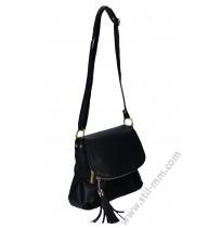 Ежедневна дамска чанта в черно