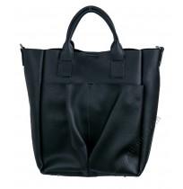 Дамска чанта с органайзер черно
