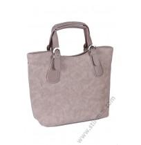 Дамска стилна чантна в антично бяло