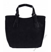 Дамска стилна чанта в черно