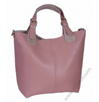 Стилна чанта 3в1 в млечно розово