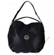 Дамска стилна чанта торба в черно