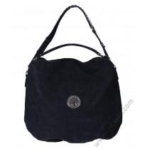 Дамска стилна чанта торба в антично черно