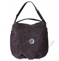 Дамска стилна чанта торба в антично кафяво