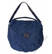 Дамска стилна чанта торба в синьо