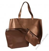 Голяма дамска чанта 3в1