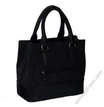 Стилна дамска чанта в черно