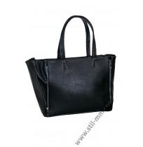 Голяма дамска чанта в черно