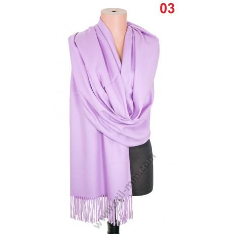 5546 Дамски шал от фина вълна кашмир в 12 цвята