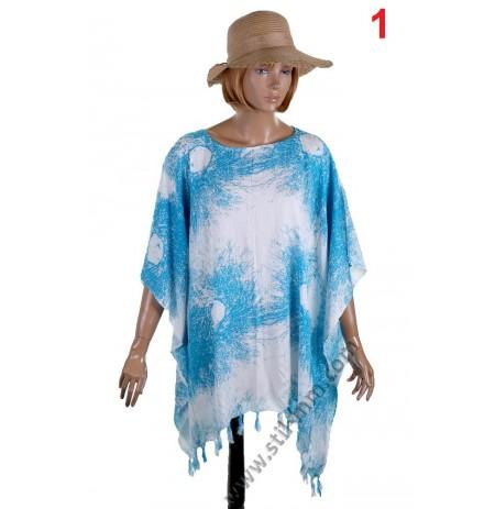 Дамска памучна туника в 3 разцветки