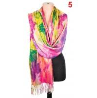 5511 Дамски кашмирен шал 6 цвята