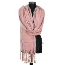 Дамски пухкав зимен шал в 5 цвята