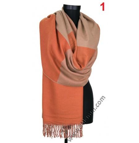 Дамски стилен зимен шал в 3 цвята