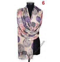 Дамски кашмирен шал в 7 цвята