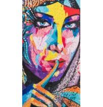 Дамски шал от серия картини