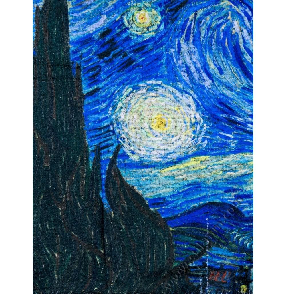 Дамски шал от серия картини - Звездна нощ