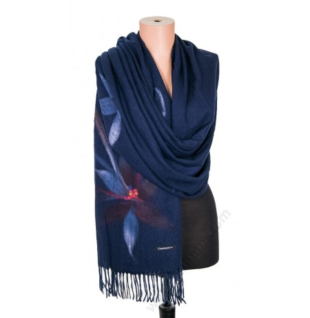 5547 Дамски шал от вълна кашмир в 9 цвята