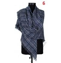 Квадратен вълнен шал в 8 цвята