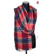 Дамски вълнен топъл шал в 4 цвята