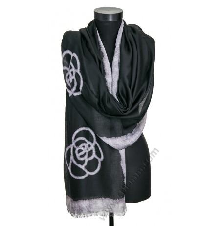 Дамски памучен шал в 3 цвята