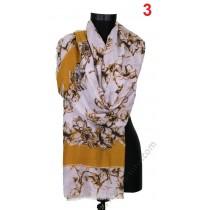 Красив памучен шал в 5 цвята
