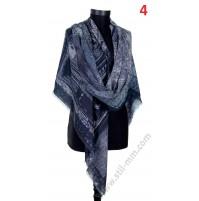 Голям памучен квадратен шал в 6 цвята