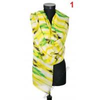 5117 Дамски памучен шал в 4 цвята