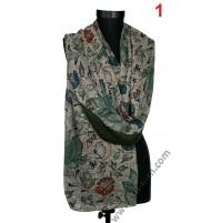 Красив памучен шал в 2 цвята - ПОСЛЕДНИ