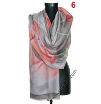 Памучен красив шал в 6 цвята