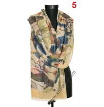 Красив памучен шал в 4 цвята