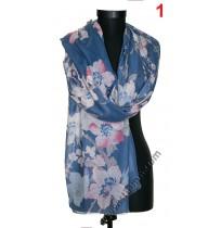 Дамски памучен шал в 2 цвята