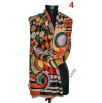 Памучен дамски шал в 6 цвята