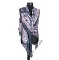 Голям памучен квадратен шал - ПОСЛЕДЕН