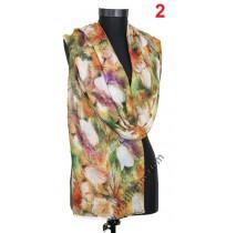 Памучен фин шал в 3 цвята