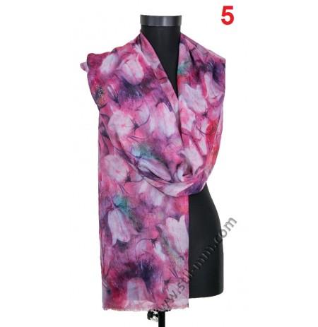 Памучен фин шал в 6 цвята