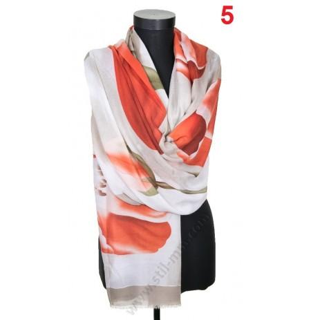 3093 Памучен красив шал в 3 цвята ПРОМОЦИЯ