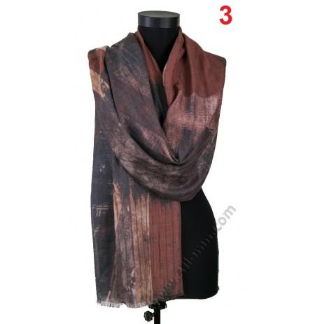 Стилен дамски шал в 3 цвята