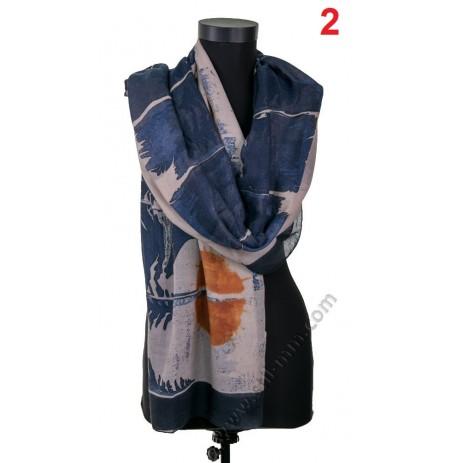 Красив дамски шал в 6 цвята
