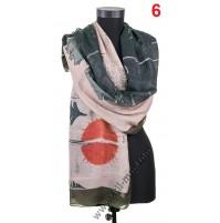 Красив дамски шал в ПОСЛЕДНИ 2 цвята