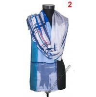 Памучен голям шал в 6 цвята