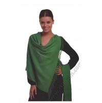Елегантен дамски шал от фина вълна в 17 цвята