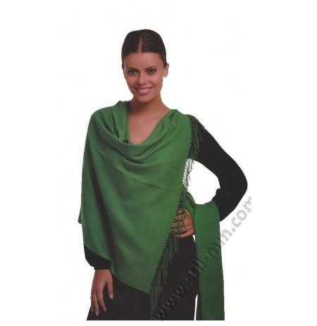Елегантен дамски шал от фина вълна в 14 цвята