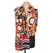 3252 Летен памучен шал в 6 цвята