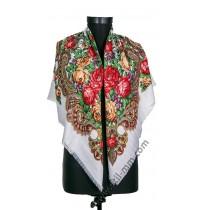 384 Красив руски шал в 7 цвята