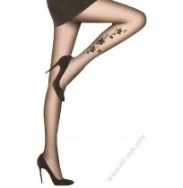 Красив тънък чорапогащник в черно