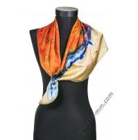 Дамски шал с картина
