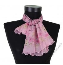 Красиво малко шалче в нежно розово