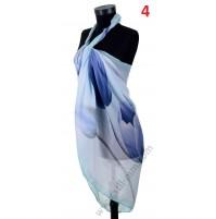 Красив плажен шал в 6 цвята