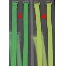Цветни неонови презрамки за сутиен в 6 цвята
