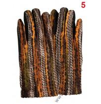 Дамски топли ръкавици с декорация от вълнени конци